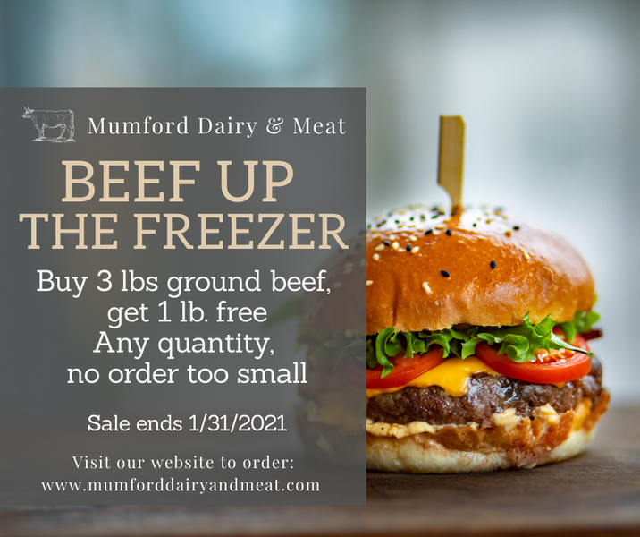 Ground Beef Sale!