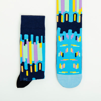 Montmartre at Night Socks