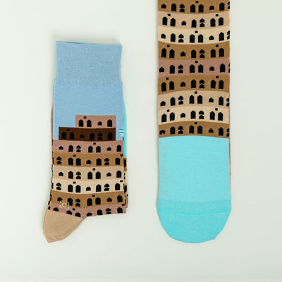 Tower of Babel Socks