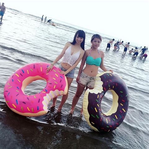 COOLEST INFLATABLE DONUT RING