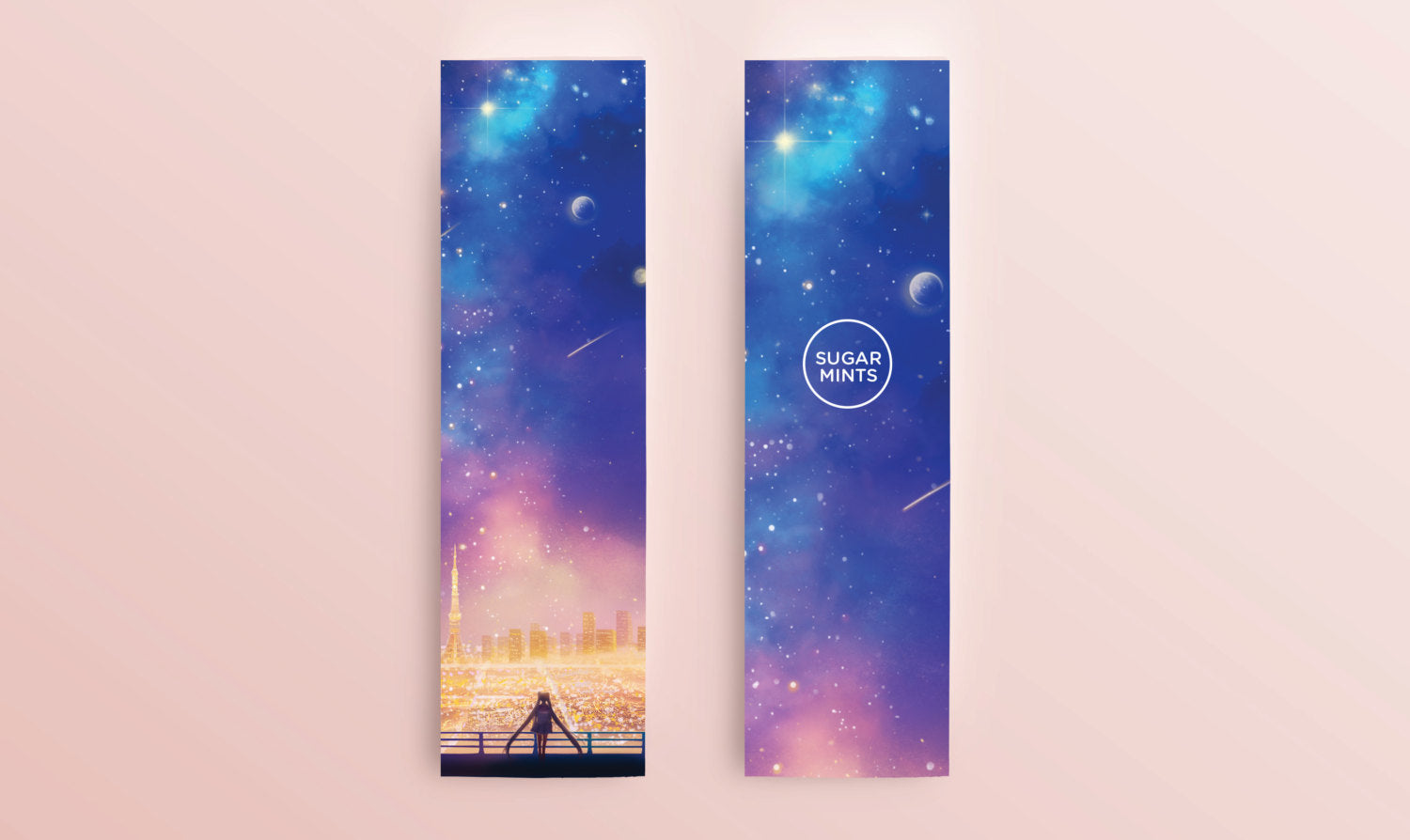 Bookmark: Cosmic Love - Sugarmints Artstore
