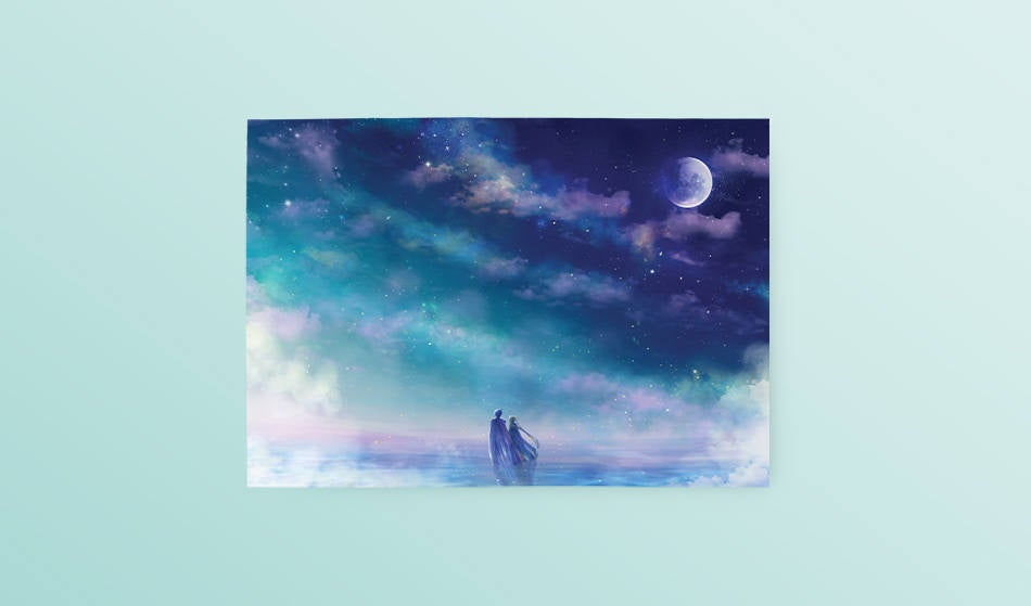 Postcard: Eternity - Sugarmints Artstore