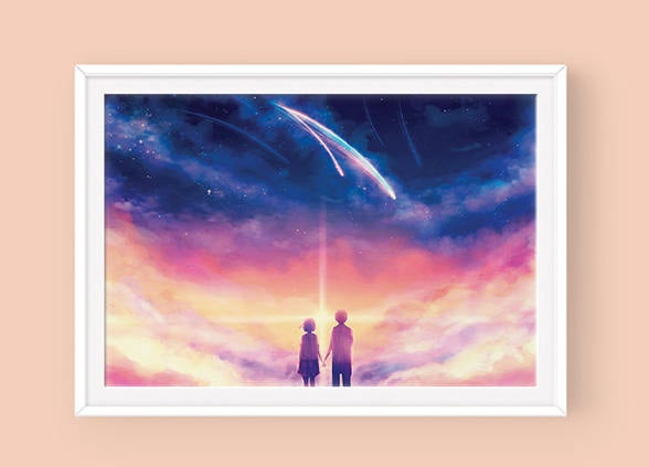 Poster: Your Name - Sugarmints Artstore