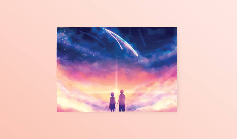 Postcard: Your Name - Sugarmints Artstore