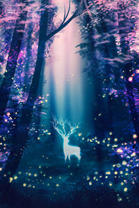 Poster: Fireflies - Sugarmints Artstore