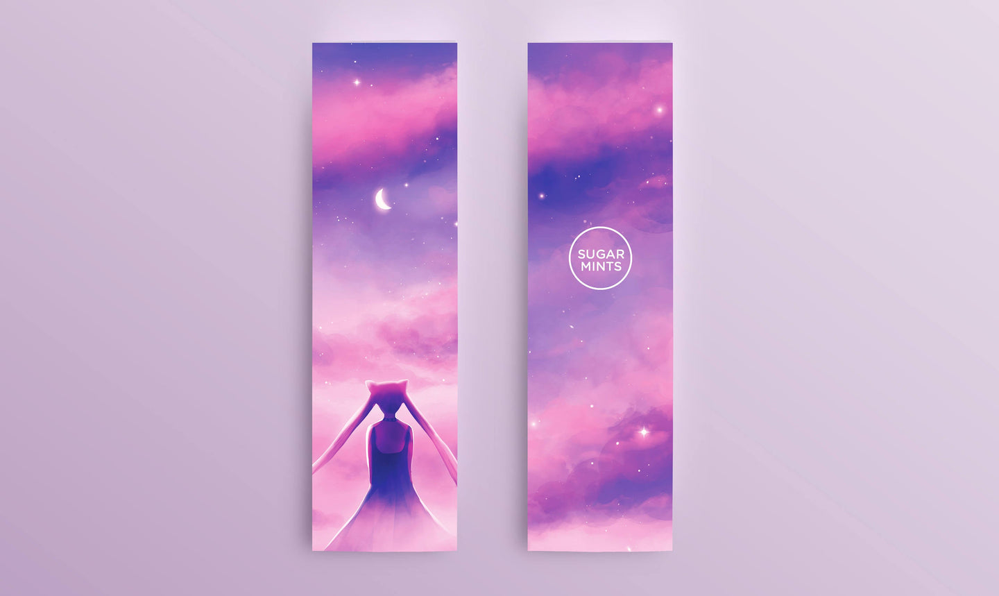 Bookmark: Dark Lady - Sugarmints Artstore