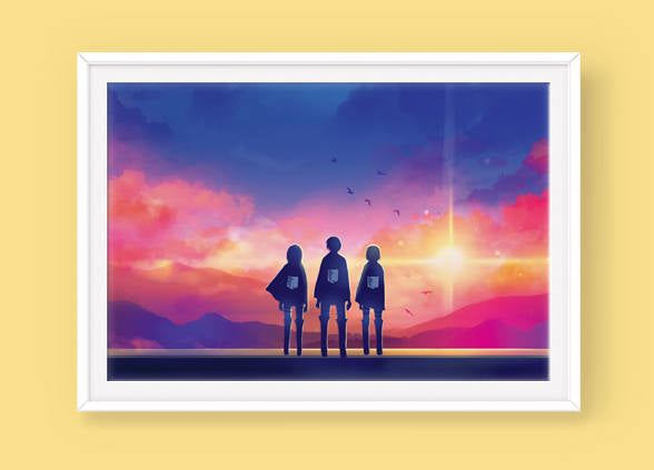 Poster: To the World Beyond - Sugarmints Artstore