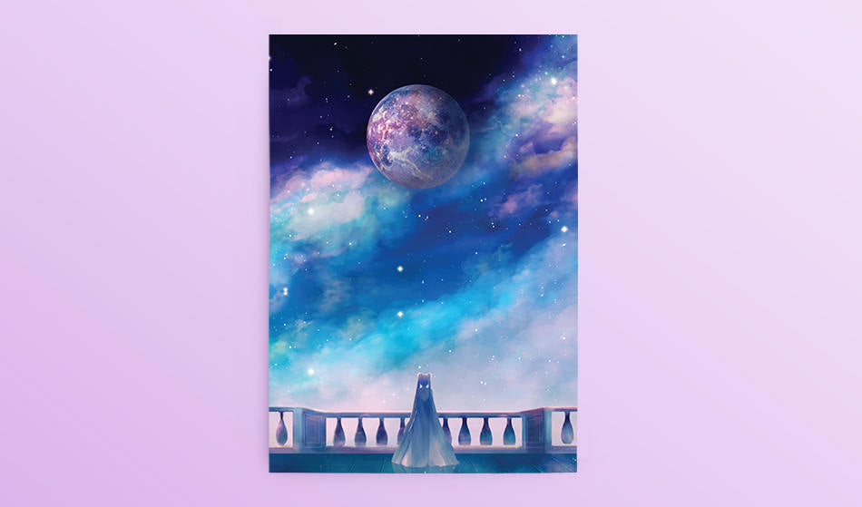 Postcard: Orbit - Sugarmints Artstore