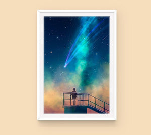 Poster: To the Stars - Sugarmints Artstore
