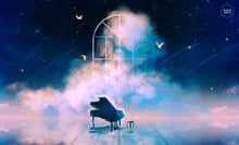 Load image into Gallery viewer, Poster: Empty Concerto - Sugarmints Artstore