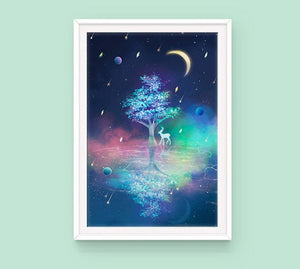 Poster, Spirit Tree - Sugarmints Artstore