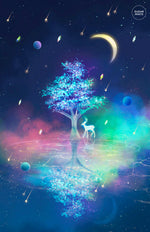 Load image into Gallery viewer, Poster, Spirit Tree - Sugarmints Artstore