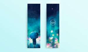 Bookmark: Rain - Sugarmints Artstore