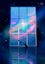 Load image into Gallery viewer, Poster: Cat in Space - Sugarmints Artstore