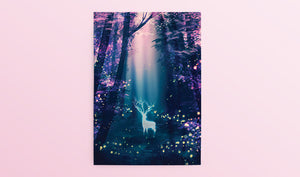 Postcard: Fireflies - Sugarmints Artstore