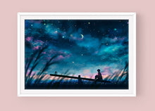 Load image into Gallery viewer, Poster: Seesaw (Suga) - Sugarmints Artstore