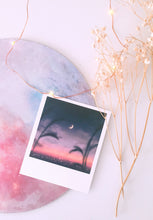 "Load image into Gallery viewer, ""Moons"" 12-pc Polaroid Set - Sugarmints Artstore"