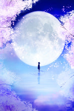 Load image into Gallery viewer, Postcard: Moon Child - Sugarmints Artstore