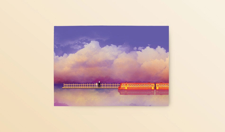 Postcard: Spirited Away - Sugarmints Artstore
