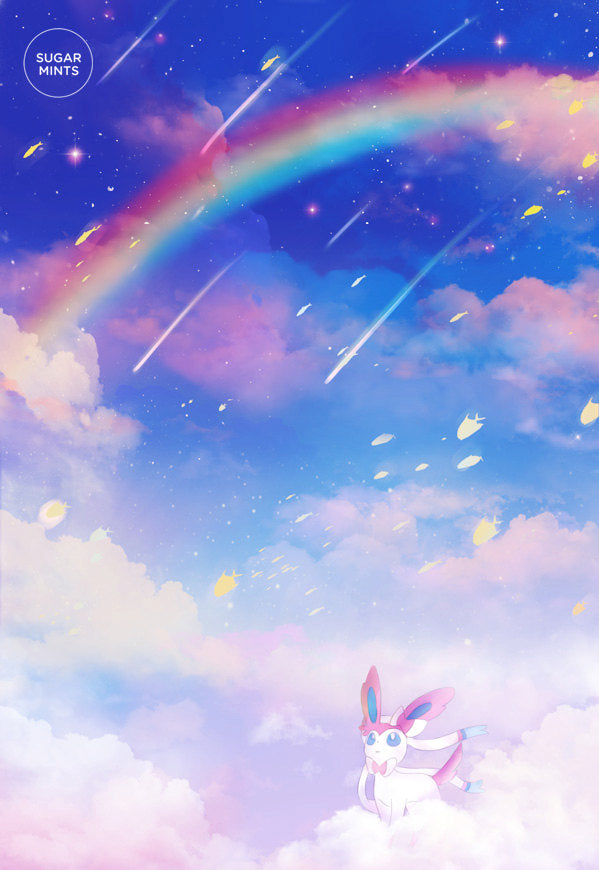 Postcard: Sylveon - Sugarmints Artstore
