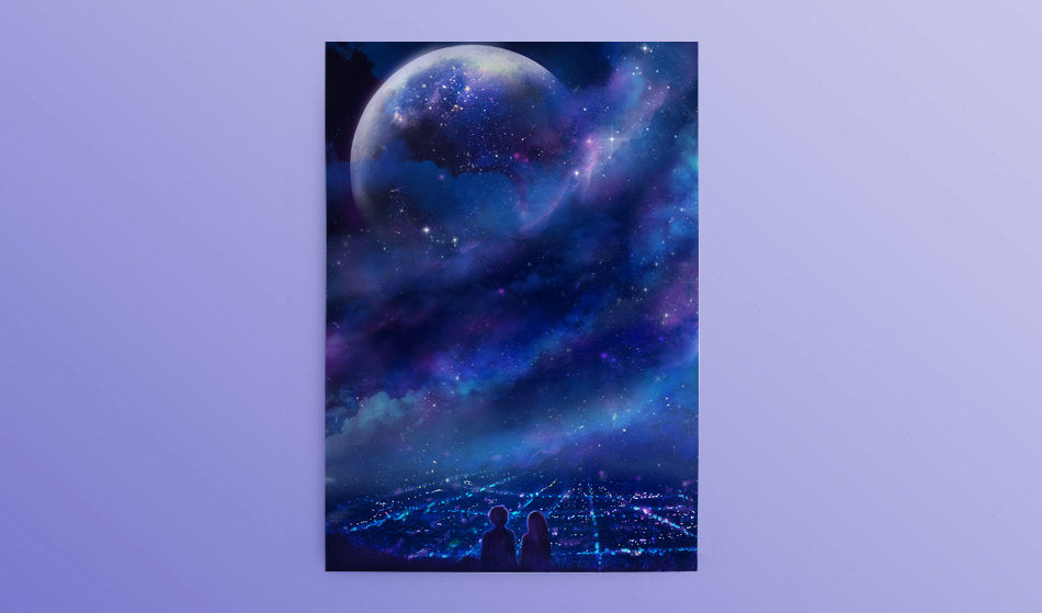 Postcard: Fantasia - Sugarmints Artstore