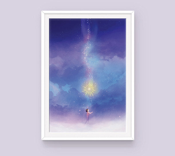 Poster: Howl's Moving Castle - Sugarmints Artstore