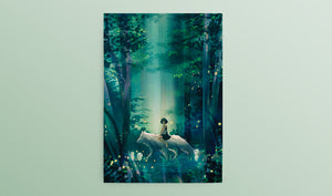Postcard: Princess Mononoke - Sugarmints Artstore
