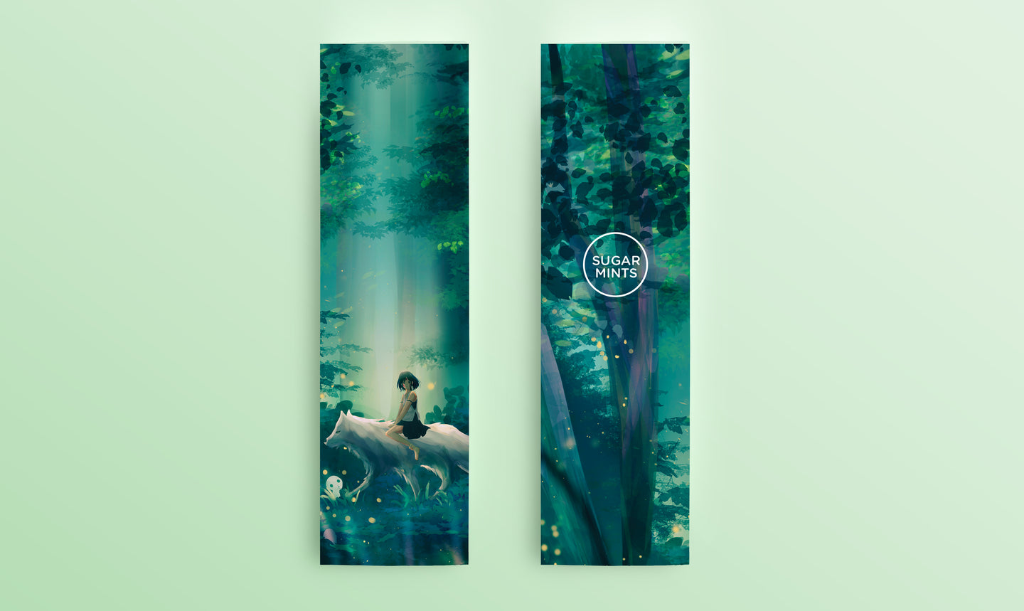 Bookmark: Princess Mononoke - Sugarmints Artstore