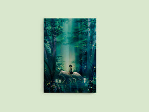 Notebook: Princess Mononoke - Sugarmints Artstore
