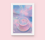 Load image into Gallery viewer, Poster: Rose Tea
