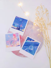 Load image into Gallery viewer, Sailor Moon Polaroid Set - Sugarmints Artstore