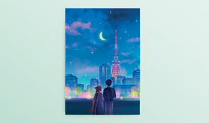 Sailor Moon Postcard/Bookmark Set - Sugarmints Artstore