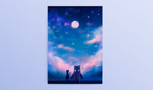 Load image into Gallery viewer, Sailor Moon Postcard/Bookmark Set - Sugarmints Artstore