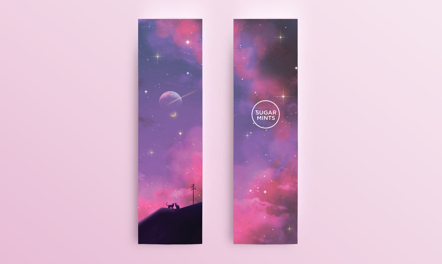 Bookmark: Star-Crossed - Sugarmints Artstore