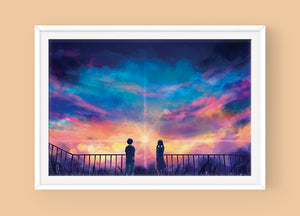 Poster: Weathering with You - Sugarmints Artstore
