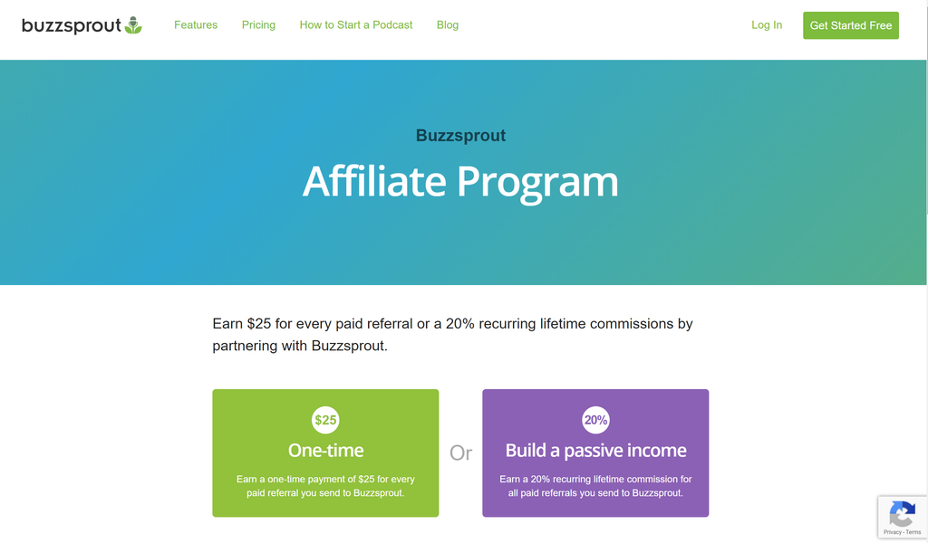Affiliate Marketing With BuzzSprout