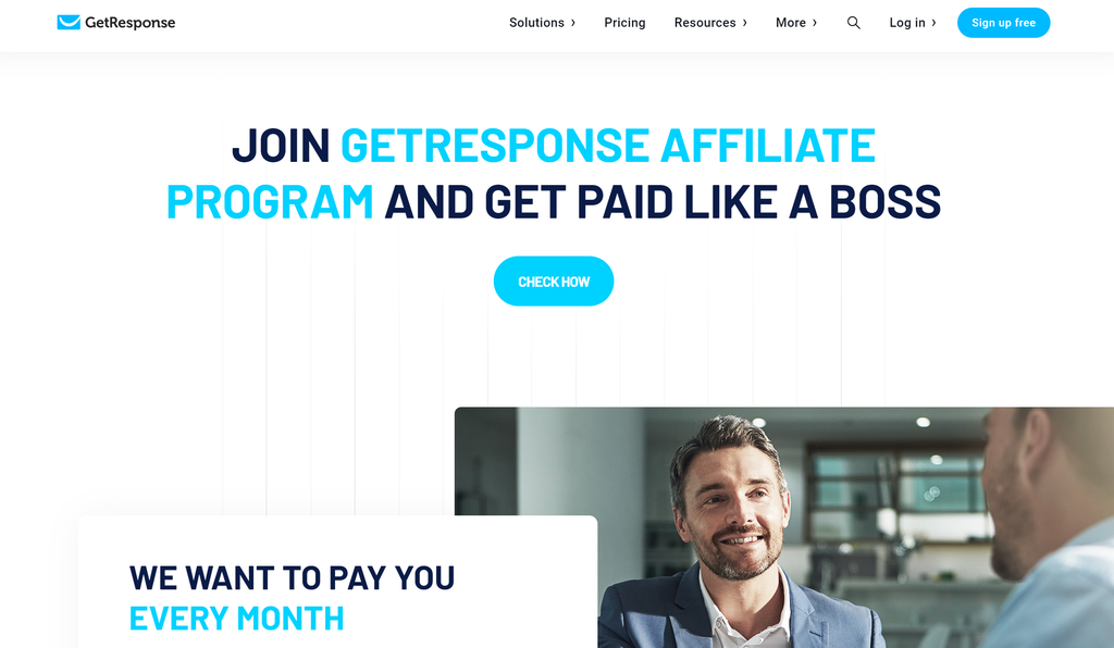 Affiliate Marketing With GetResponse