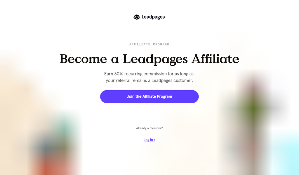 Affiliate Marketing With LeadPages