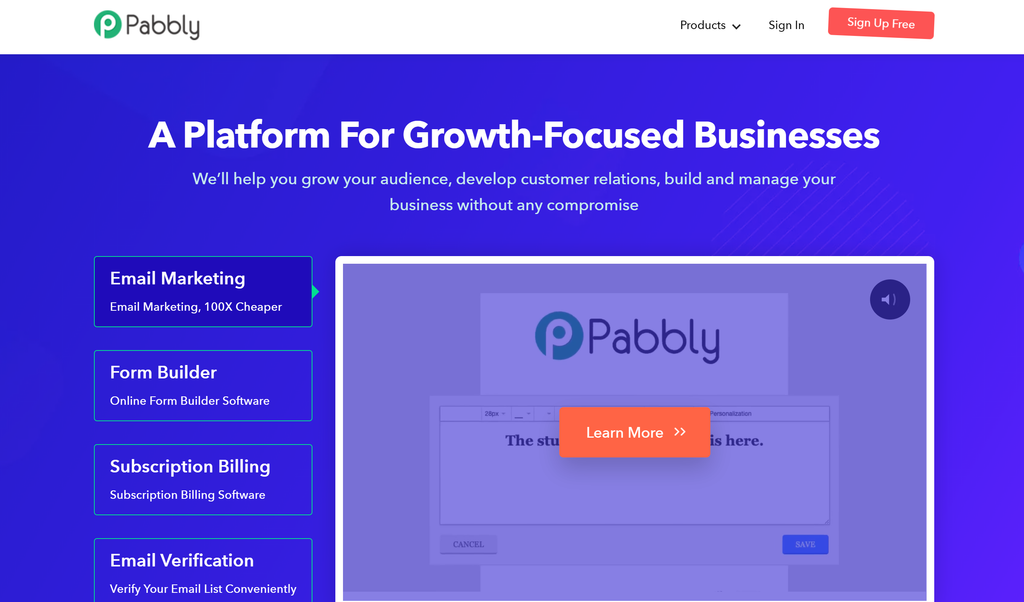 Affiliate Program With Pabbly