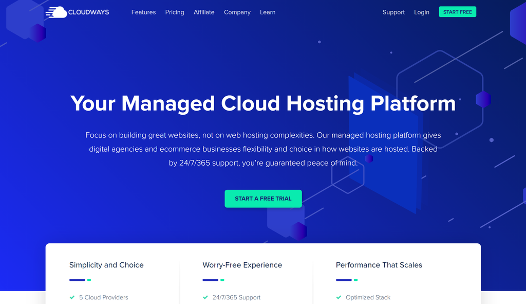 Hosting With Cloudways