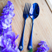 Load image into Gallery viewer, Sakura Stainless Steel Fork and Spoon