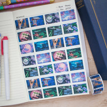 Load image into Gallery viewer, Japan Stamp Washi Tape