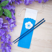 Load image into Gallery viewer, Sakura Stainless Steel Chopstick Set