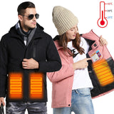 Winter Couples USB Heated Jacket