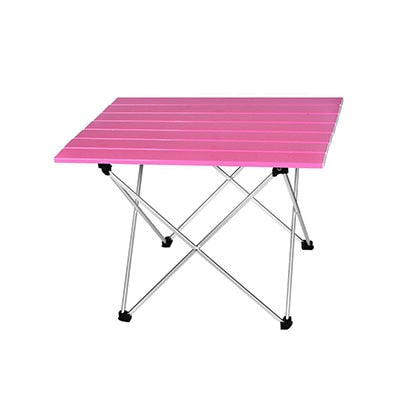 5 Person Portable Camping Side Tables with Aluminum Table Top Hight Quality