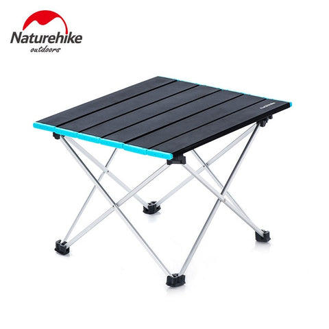 Aluminum Portable Outdoor Foldable Metal Garden Picnic Table
