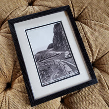 Load image into Gallery viewer, Small Oregon Coast Picture in Black Frame