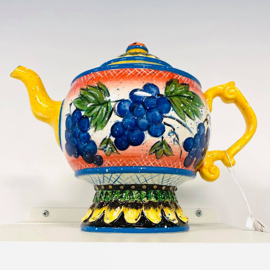 Julie Ueland Grape Tea Pot