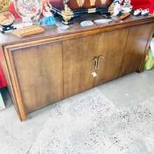 Load image into Gallery viewer, Vintage Mahogany Folding Door Buffet w/ Protection Pad