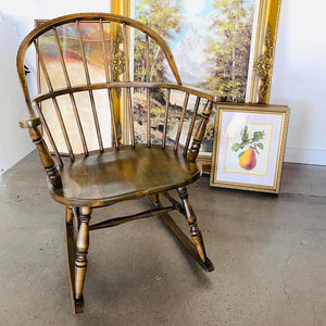 Bow Back Windsor Rocking Chair